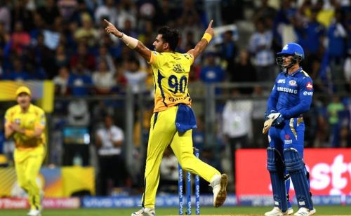 Chahar has become a prime member of CSK's pace attack