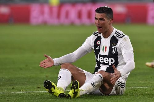 Cristiano Ronaldo's goal was not enough for Juventus to beat Ajax