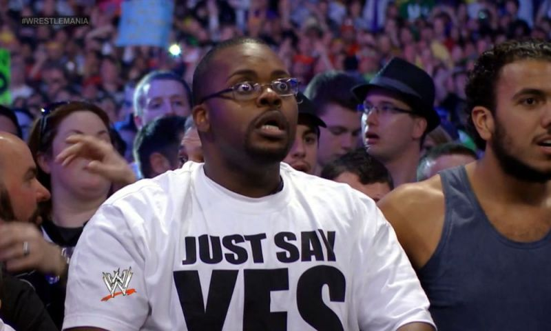 Fans were shocked when The Undertaker fell to Brock Lesnar at WrestleMania 30, though no-one was more shocked than Ellis Mbeh.