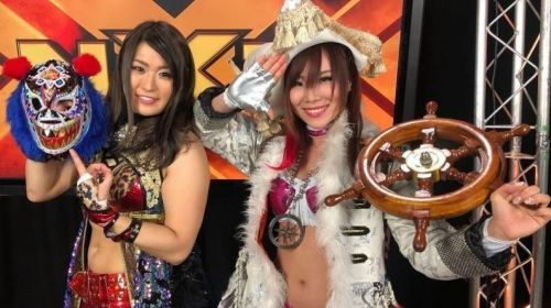 Could the Sky Pirates be debuting next week with Paige as their mouthpiece?