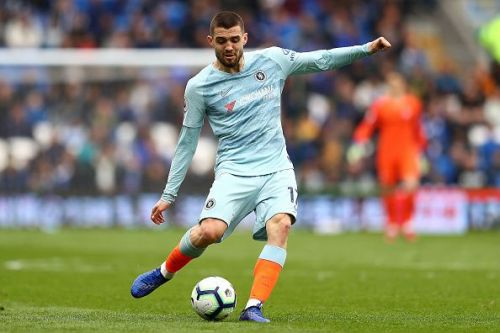 Mateo Kovacic in action for Chelsea against Cardiff City