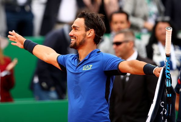 Fabio Fognini overjoyed after defeating Nadal at the Monte-Carlo Masters 2019