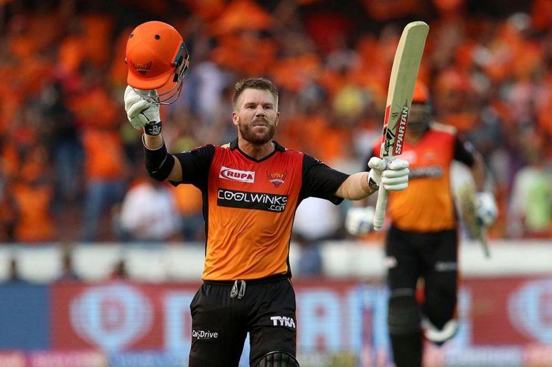 David Warner, leading batsman.(Image courtesy: BCCI/iplt20.com)