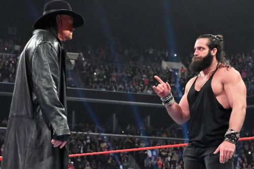 Elias and The Undertaker