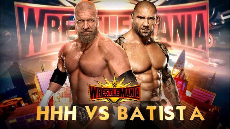 The former Evolution stablemates do battle at WrestleMania 35.