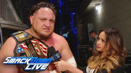 Joe will elevate the WWE Unites States Championship
