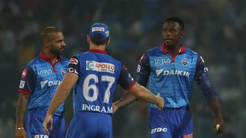 The Delhi Capitals players (picture courtesy: BCCI/iplt20.com)