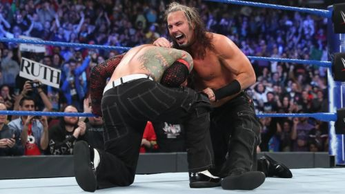 The legendary duo won the SmackDown tag titles last week before being attacked by Lars Sullivan.