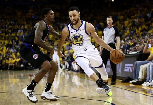 The Warriors were dominant in the first game