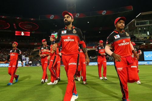 RCB have plenty of problems to deal with ahead of their next game. (Image Courtesy: IPLT20)