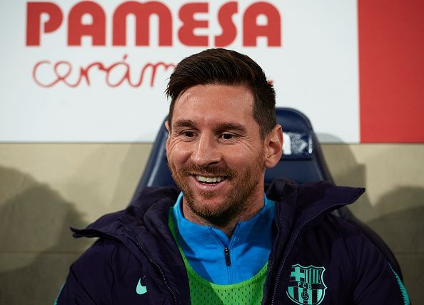 Messi came from the bench and scored a wonderful free-kick
