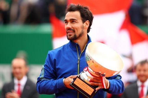Fabio Fognini after winning the Monte-Carlo Masters 2019