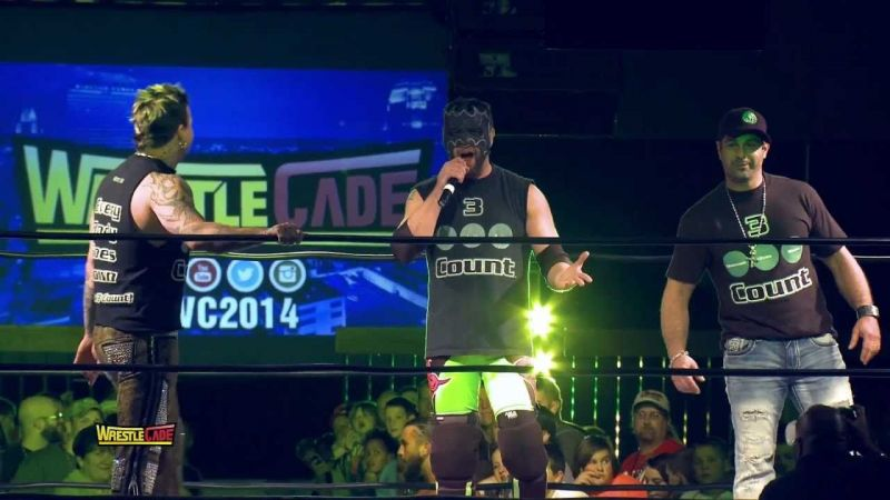 The self-proclaimed boyband icons reunited at WrestleCade in 2014 to give a live performance for the crowd.