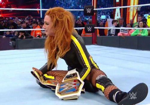 Becky Lynch Makes History at WrestleMania 35