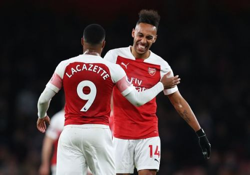 We could see Auba-Laca duo from the start of the game