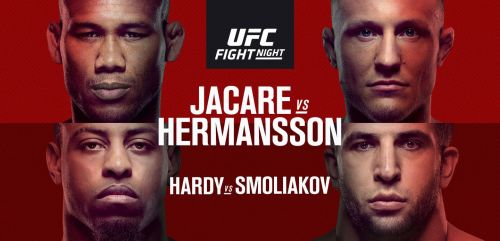 Jacare Souza takes on Jack Hermansson in this week's Fight Night main event