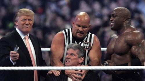 Vince McMahon getting his head shaved
