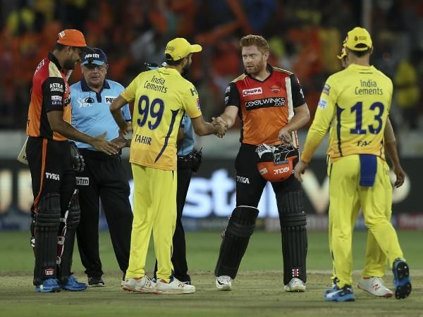 Hyderabad sunrisers won the match by 6 wickets after consective losses