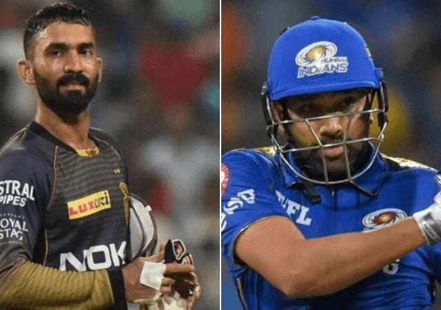 मुंबई इंडियंस और कोलकाता नाईटराइडर्स के कप्तान