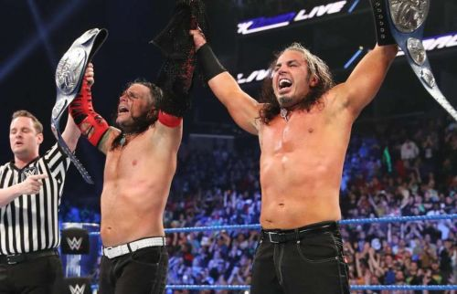 Jeff and Matt Hardy are the current tag team champions