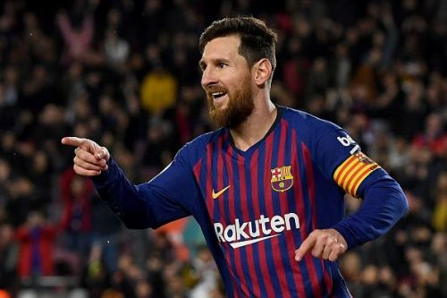 Leo Messi is making sure Barcelona keep up their pace