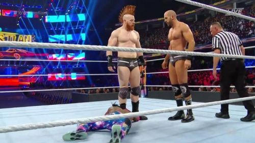Cesaro and Sheamus were split up on SmackDown