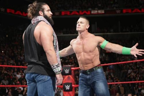 John Cena and Elias have some unsettled business