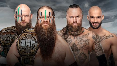 NXT Takeover: New York: NXT Tag Team Championship Match - The War Raiders vs Aleister Black and Ricochet