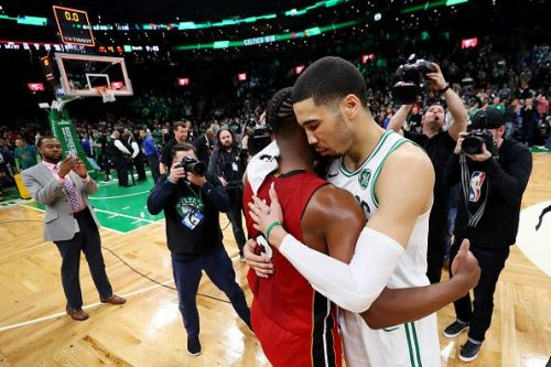 The Celtics emerged victorious by a scoreline of 112-102