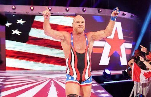 WrestleMania 35: Kurt Angle's Farewell Match: Kurt Angle vs Baron Corbin