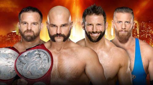 WrestleMania 35: RAW Tag Team Championship Match: The Revival vs Curt Hawkins and Zack Ryder
