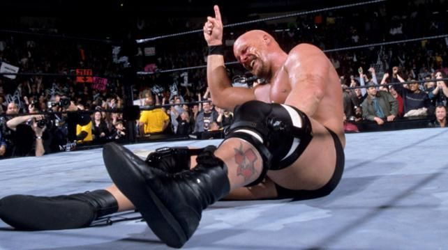 The Texas Rattlesnake was still riding high in WWF during the ascent of Triple H.