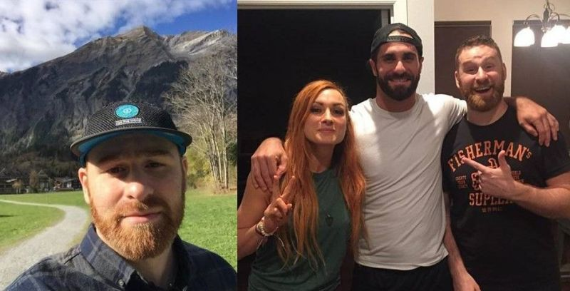 Sami Zayn (far left and far right) is regarded as one of the best in-ring professional wrestling performers today