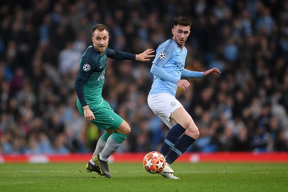 Aymeric Laporte made two crucial errors to give Son a sniff. He defended terribly during the corner as well.