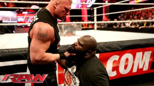 Remember when Lesnar victimised Henry on Raw?