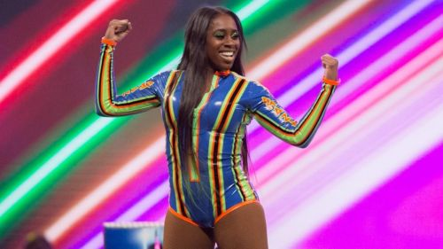 Naomi has not competed on Monday Night Raw in years