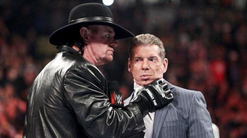 The Undertaker did not show up