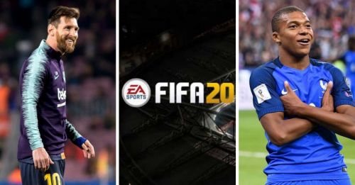 Who will be on the cover of FIFA 20?