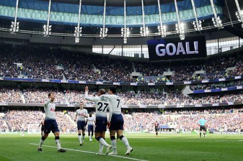 Tottenham Hotspur will look to keep their momentum going at the Tottenham Hotspur Stadium