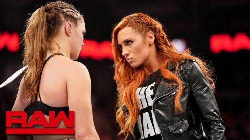 Becky didn't spare the current RAW Women's champion