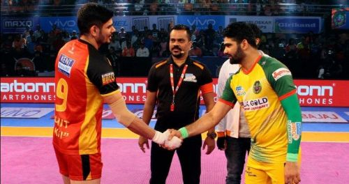 Rohit Kumar and Pardeep Narwal are among the best raiders in the league