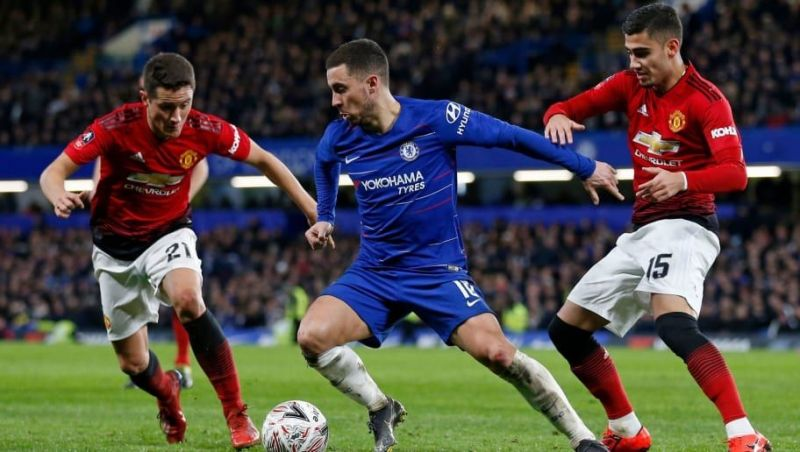 Manchester United vs Chelsea: Combined XI