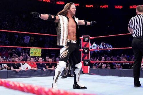 AJ is finally on Raw