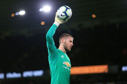 David de Gea's contract talks have stalled at Manchester United