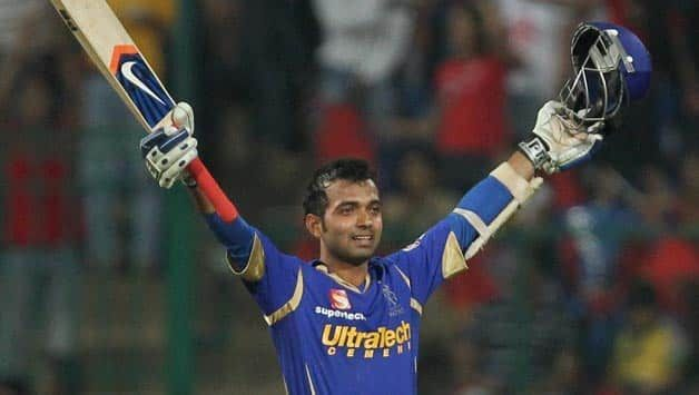 103* by Ajinkya Rahane in 2012 IPL is the highest individual score
