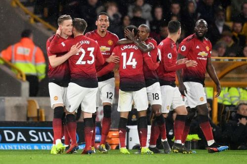 Manchester United would attempt to eliminate Barcelona