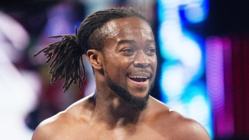 And the new WWE Champion...Kofi Kingston!