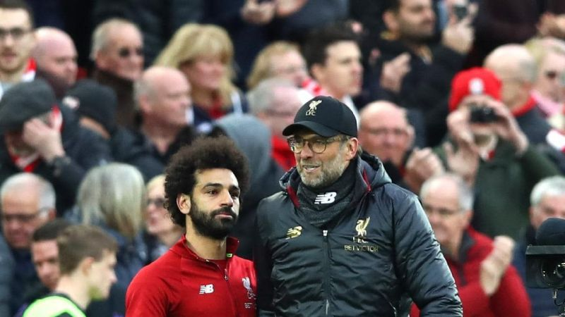 Spanish paper, AS, reported fallout between Mo Salah and Jurgen Klopp yesterday