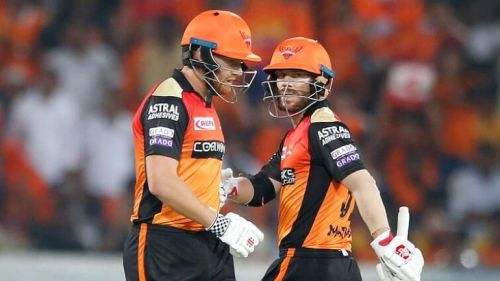 Partnership between Baistow and Warner crucial for the Sunrisers