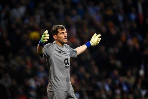 FC Porto's current hero Iker Casillas